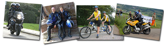 Alain Spronck, moto, vélo,rando