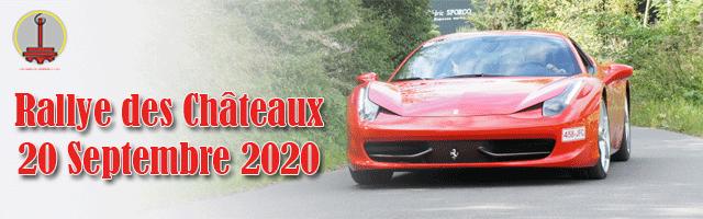 Rallye des Châteaux 2020